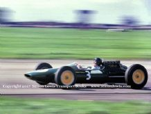 LOTUS 25 Jim Clark. Photo.  1963 Daily Express Trophy Race  Silverstone
